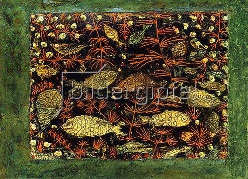 Paul Klee: Das Aquarium. 1927.8