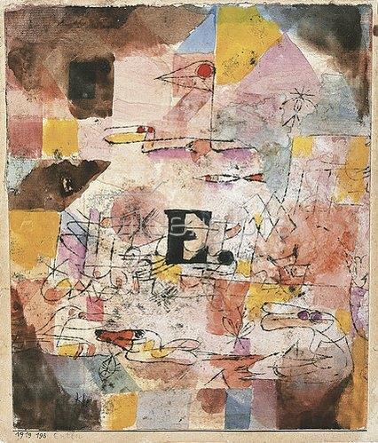 Paul Klee: Enten. 1919