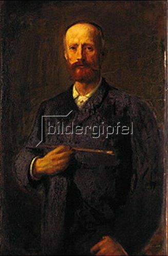 Hans von Marées: Selbstbildnis 1883