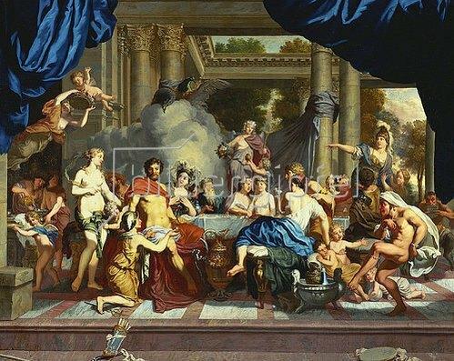 Gerard de Lairesse: Die Hochzeit von Peleus und Thetis.