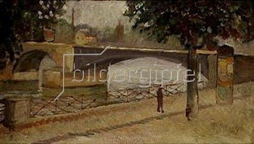 Edvard Munch: Die Seine bei St.Cloud.