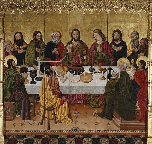 Valencia Perea-Meister: Das letzte Abendmahl.