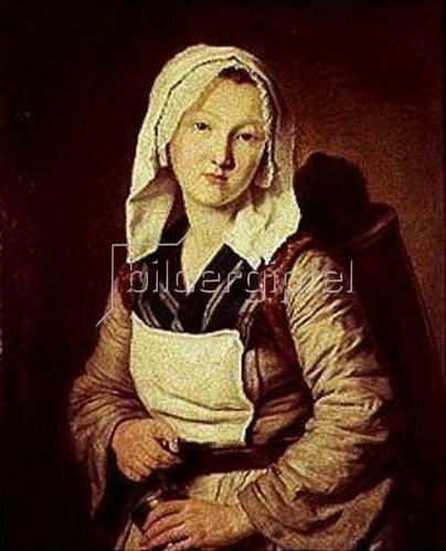Françoise Duparc: Die Kräuterhändlerin.