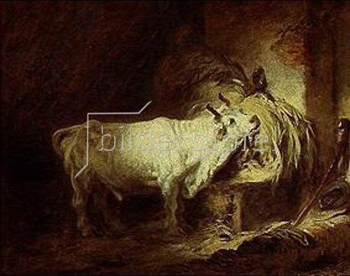 Jean Honoré Fragonard: Der weisse Stier.