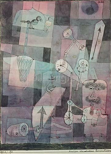 Paul Klee: Analyse verschiedener Perversitäten. 1922