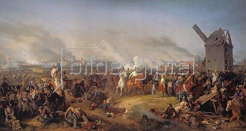 Peter von Hess: Die Völkerschlacht bei Leipzig, 1813.