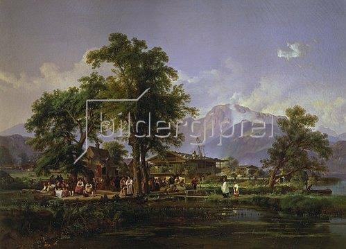 Karl-Ludwig Seeger: Vorbereitung zur Prozession.
