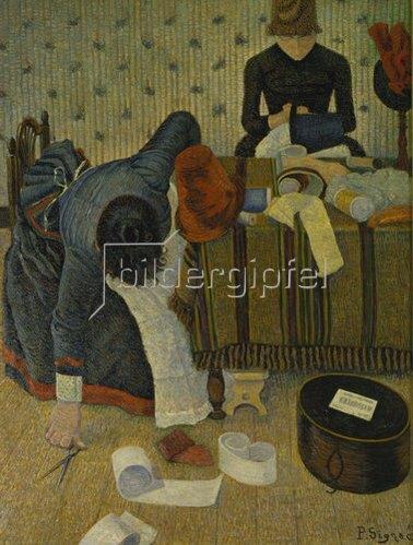 Paul Signac: Die Modistinnen. 1885/86