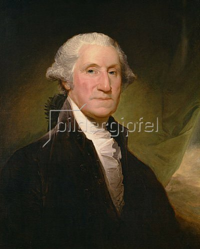 Gilbert Stuart: George Washington. 1795