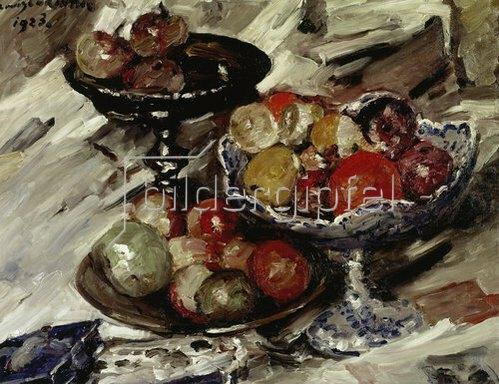 Lovis Corinth: Fruchtschalen. 1923.