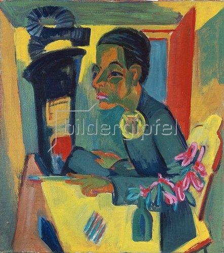 Ernst Ludwig Kirchner: Der Maler. Selbstportrait 1919/1920.
