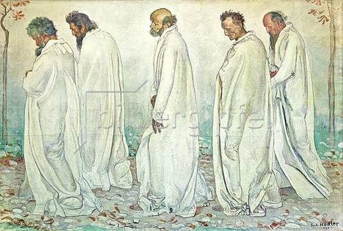 Ferdinand Hodler: Eurhytmie. 1895.