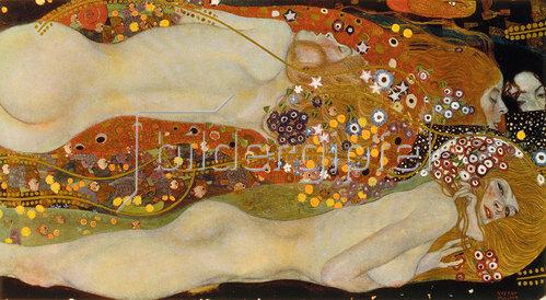 Gustav Klimt: Wasserschlangen II. (Freundinnen) 1904/1907.