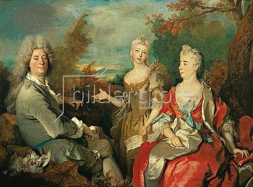 Nicolas de Largilliere: Familienportrait.