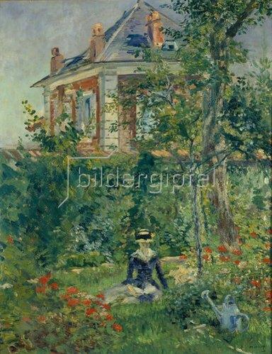 Edouard Manet: Marguerite im Garten von Bellevue. 1880