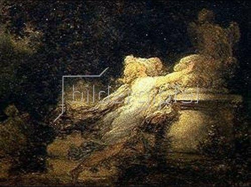 Jean Honoré Fragonard: Das Gebet zu Gott Amor.