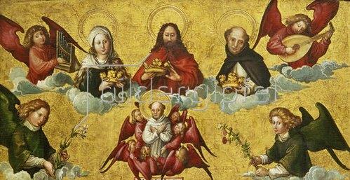 Albrecht Dürer: Die Krönung des hl.Dominikus.