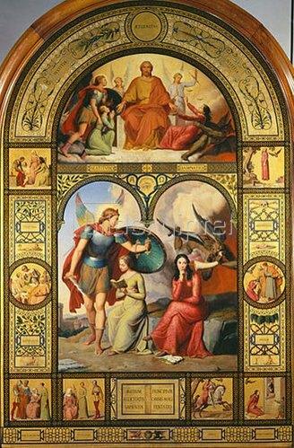 Victor Orsel: Das Gute und das Böse. 1832.