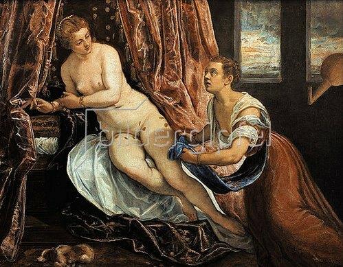 Tintoretto (Jacopo Robusti): Danaë.