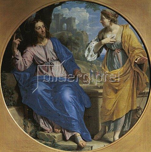 Philippe de Champaigne: Christus und die Samariterin. 1648.