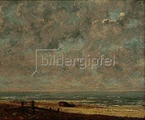 Gustave Courbet: Am Meeresstrand. 1871/1872.