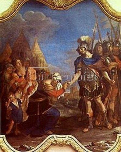 G. Francesco (Guercino) Barbieri: Coriolan und seine Mutter. 1643.