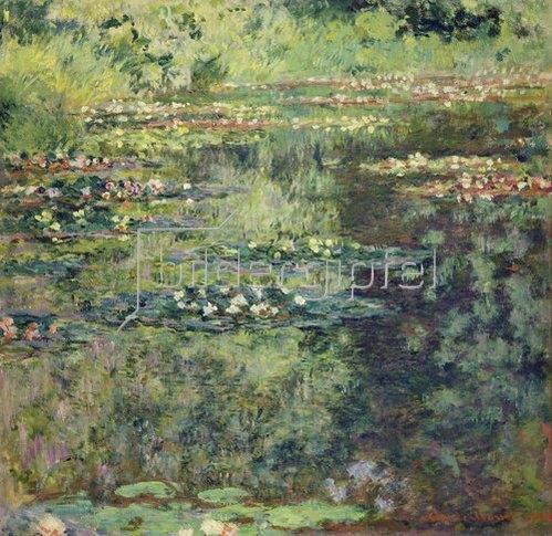 Claude Monet: Seerosenteich. 1904