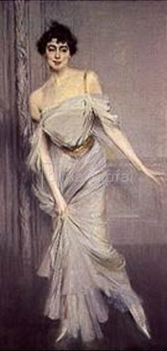 Giovanni Boldini: Madame Charles Max. 1896.