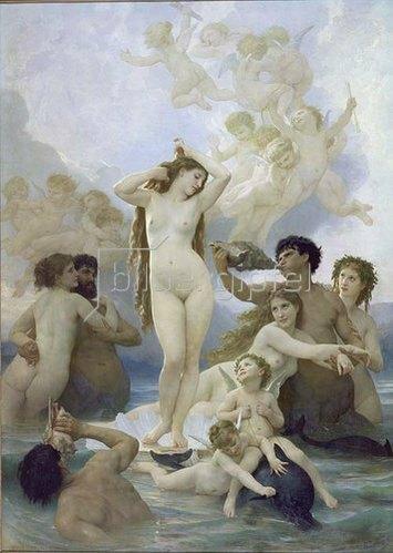 William Adolphe Bouguereau: Die Geburt der Venus. 1879