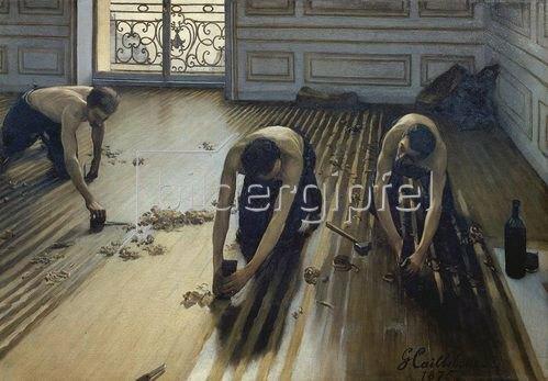 Gustave Caillebotte: Die Parkett-Hobler. 1875
