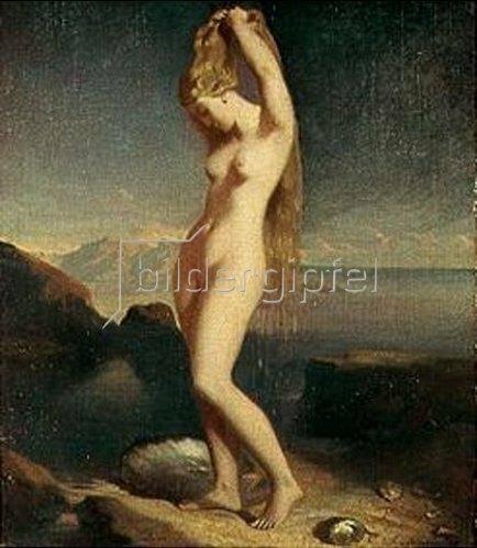 Theodore Chasseriau: Die aus dem Meer gestiegene Venus. 1838.