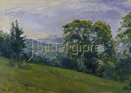 Max Slevogt: Pfälzer Landschaft. 1914