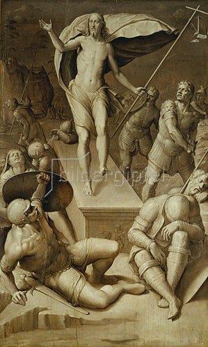 Florentinische Schule: Die Auferstehung Christi.
