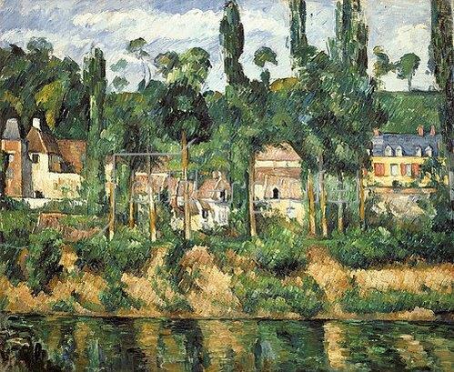Paul Cézanne: Schloß Medan. Um 1880