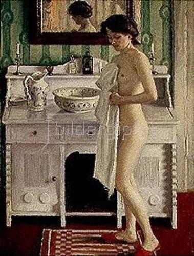 Paul Fischer: Die Morgentoilette.