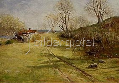 Olof Hermelin: Schwedische Frühlingslandschaft. 1895.