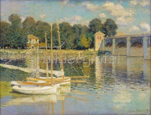 Claude Monet: Die Brücke von Argenteuil. 1874
