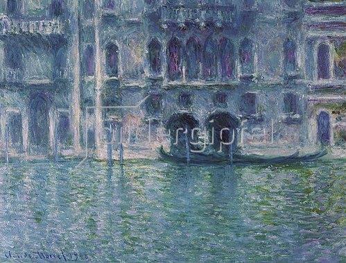 Claude Monet: Der Palazzo de Mula in Venedig. 1908