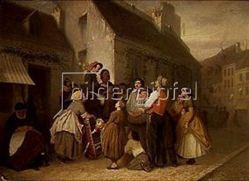 Wassili Perow: Liederverkäufer in Paris. 1863.
