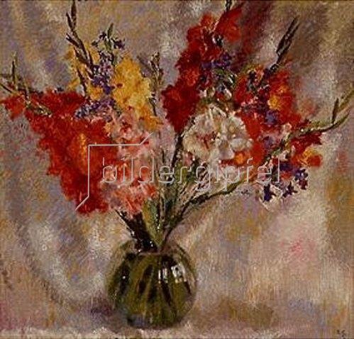 Antonio Augusto Giacometti: Gladiolen. 1933.