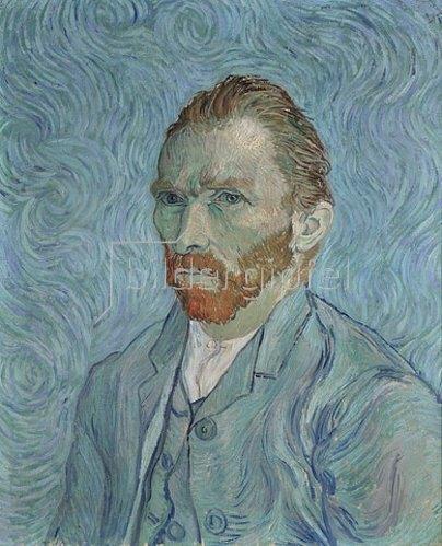 Vincent van Gogh: Selbstbildnis 1889.