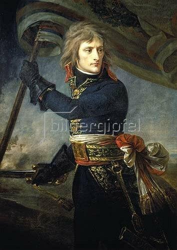 Antoine Jean Gros: Bonaparte an der Brücke von Arcole, 17.November 1796.