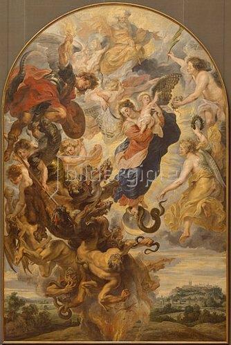 Peter Paul Rubens: Das apokalyptische Weib. 1624/1625