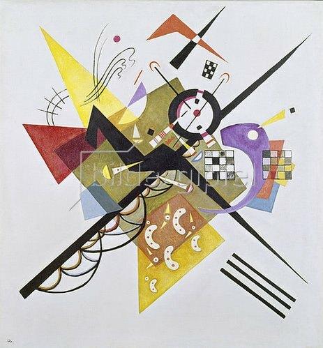 Wassily Kandinsky: Auf Weiss II. 1923.