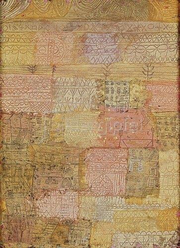 Paul Klee: Villenviertel in Florenz. 1926 W 13.
