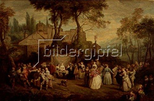 Französisch: Hochzeit auf dem Lande.