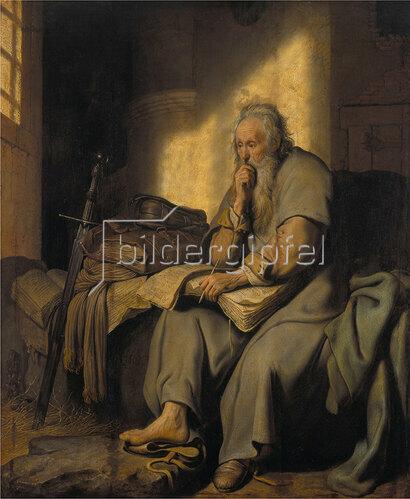 Rembrandt van Rijn: Paulus im Gefängnis. 1627