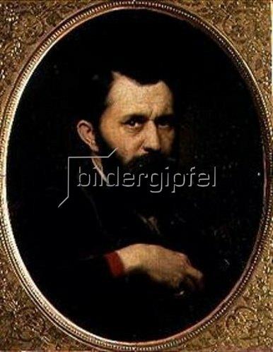 Wassili Perow: Selbstbildnis 1870.