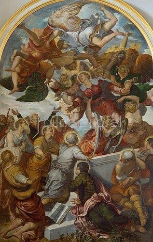 Tintoretto (Jacopo Robusti): Himmelfahrt Mariae.