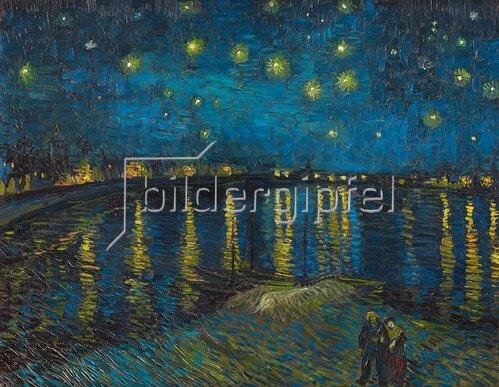 Vincent van Gogh: Sternennacht über der Rhone. 1888